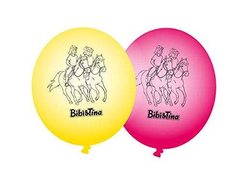 8 Luftballons * BIBI & TINA * für Kinderparty und Kindergeburtstag von DH-Konzept // Blocksberg Deko Ballons Party Set