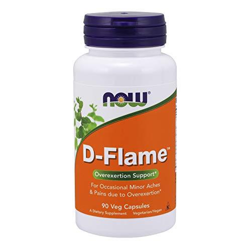 D-FLAME - Con Extracto de Cúrcuma y Albahaca - 90 veg caps