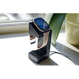 ASUS ZenWatch 2 Stand, Artifex Charging Dock Stand for ZenWatch2, New 3d Printed Technology, Smartwatch Cradle (ZenWatch2 Black)
