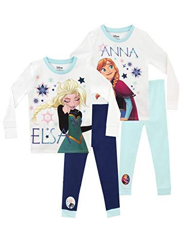 Disney Frozen Pijamas Niñas 2 Paquetes