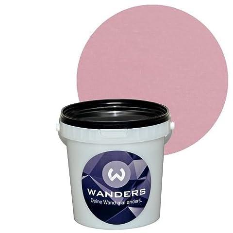 Wanders24 Shabby-Chic (1 Liter, Antikrosa) Kreide-Farbe Wand-Farbe Vintage Antik-Look