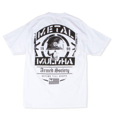 Metal Mulisha - - Männer wie Enemy T-Shirt White