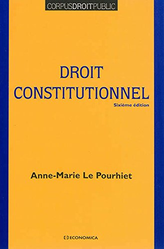Droit Constitutionnel, 6e ed. (le)