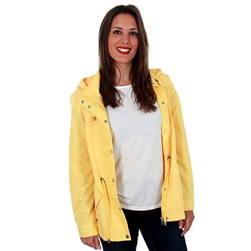 Cazadora amarilla para mujer