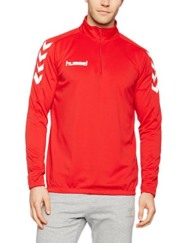 Hummel Herren Sweatshirt Core 1/2 Zip, True Red, S, 36-895-3062