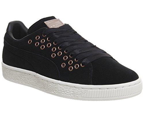 Puma Suede Xl Lace Vr, Sneakers Basses Femme, Vert Olive Noir