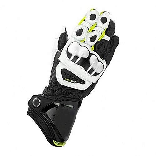 MYSdd 2019 nuovi guanti da moto 8 colori 100% lunghi da corsa guidando guanti da moto GP PROYellowM