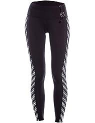 GlideSoul pour Femme Vibrant Stripes Collection - Legging Néoprène 1 mm