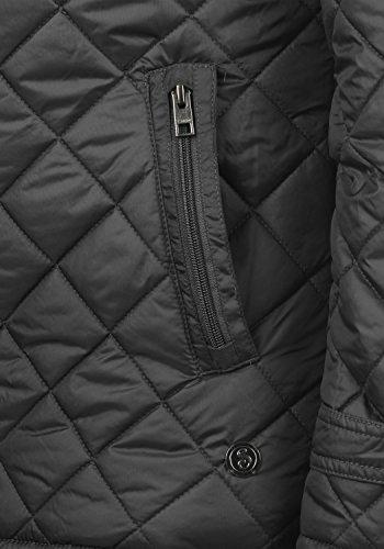 !Solid Safi Herren Steppjacke Übergangsjacke Jacke Mit Stehkragen, Größe:S, Farbe:Dark Grey (2890) - 5