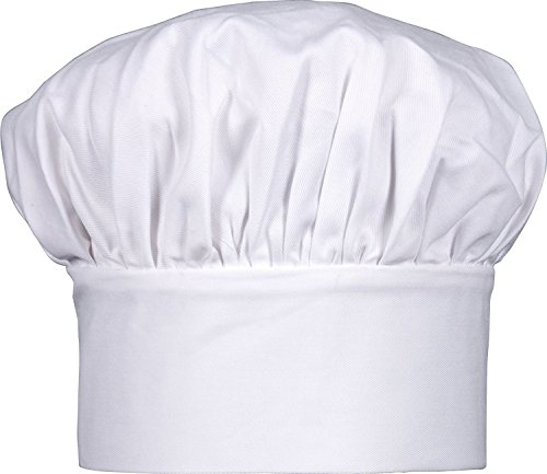 Harold Gourmet Classics Child Size 100% Cotton Adjustable Jr. Chef Hat - 7  f46f92ed6454