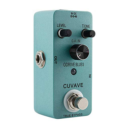 Shoppingba True Bypass Full Metal Shell Blues Music Style Overdrive Guitar Effect Pedal multi -