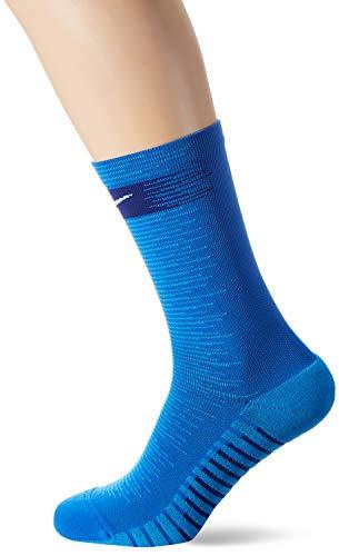 Nike squad crew - calzettoni da calcio, unisex, sx6831-463, royal blue/light photo blue/white, l/eu 42-46