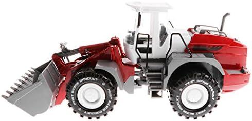 B Blesiya 1:22 1:22 1:22 Jouet de Modèle de Voiture Moulé sous Pression de Pelle à Tracteur Cadeau D'anniversaire pour   | Vente Chaude  70769a