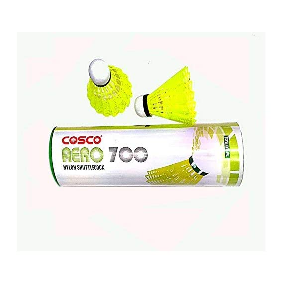 Cosco Nylon Green Aero 700 Shuttle Cock