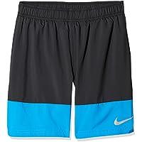 Nike AS YA Distance YTH Pantalones Cortos, Niños, Negro Photo Blue/Black, S