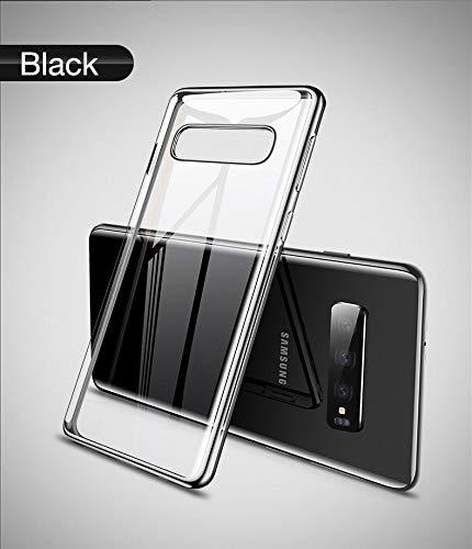 Skins4u Hülle passend für Samsung Galaxy S10, S10e, S10 Plus, Handyhülle Smartphone, Crystal Clear Soft Silikon Bumper Case Cover, Ultra Dünn Durchsichtige Schutzhülle - Transparent (Galaxy S10)