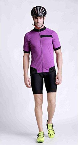 QXF Komfortabel, atmungsaktiv Outdoor-Sport-Fahrradkleidung kurzärmeliges Trikot Set Wicking, M