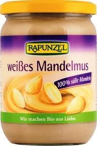 Preisvergleich Produktbild Rapunzel Mandelmus weiss, 4er Pack (4 x 500g) - Bio