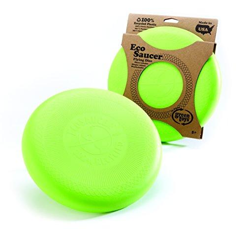 Green Toys - 66024 - Outillage De Jardin Pour Enfant - Ecosaucer Flying Disc