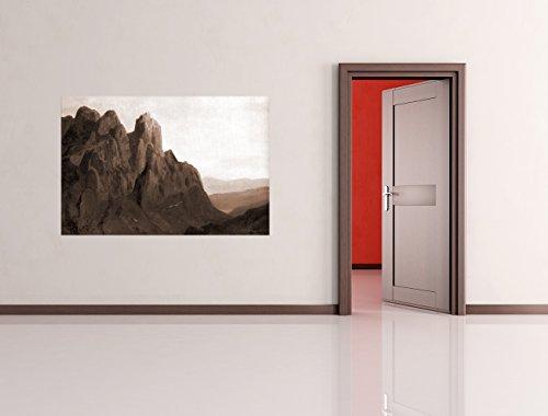 Vlies Fototapete Carl Spitzweg - Alte Meister - Morgengrauen im Karwedel - sephia - sepia - 90x60 cm...