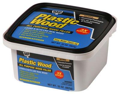 DAP INC - Plastic Wood Latex All-Purpose Wood Filler
