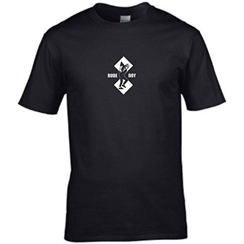 De niño de dos tonos para grosero - iconic logo para hombre T-Shirt para disfraz