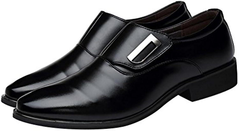 Fashion ER Herrenmode Casual Lederschuhe Formale Anzug Stil Spitzschuh Schuhe Männlichen Hochzeitskleid Schuhe
