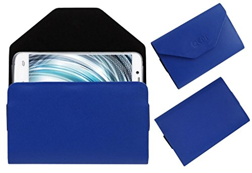 Acm Premium Pouch Case For Lava Xolo A1000 Flip Flap Cover Holder Blue  available at amazon for Rs.179