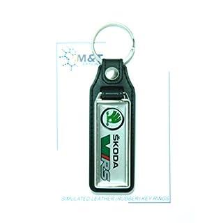 Simulierte Leder (Gummi) Schlüsselanhänger One Seite Medaillon einfügen 3D Kunststoff Bild