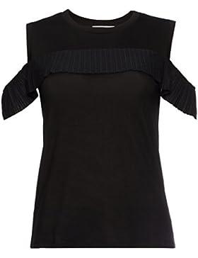 FIND Camiseta con Hombros al Aire para Mujer