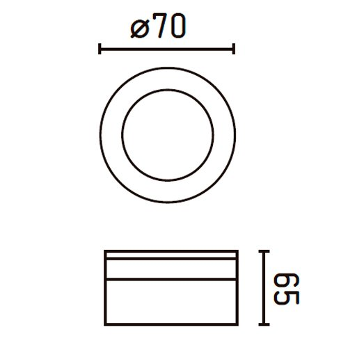 Faro-42919-EBBA-LED-Lampada-incasso-bianca-e-trasparente