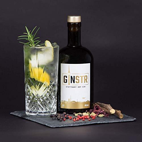 GINSTR - Stuttgart Dry Gin 44% vol (1 x 0.5 l)