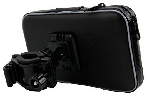 DURAGADGET Fahrrad Halterung mit Schutz-Hülle für Ihr Huawei Honor Magic | Nokia E1 | BLU Vivo 6 Smartphones