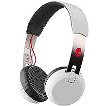Auriculares de diadema Skullcandy Grind Wireless, blanco/rojo