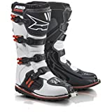 AXO Drone Limited Edition Stiefel, Weiss/Schwarz/Rot, 41