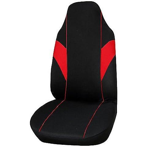 cubierta de asiento de coche autoyouth tejido de poliéster ajuste universal mayoría de los vehículos asiento cubre accesorios del coche