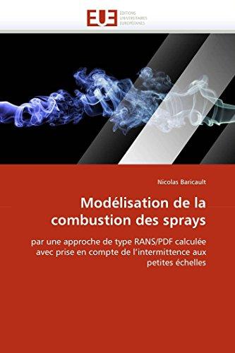 Modélisation de la combustion des sprays par Nicolas Baricault