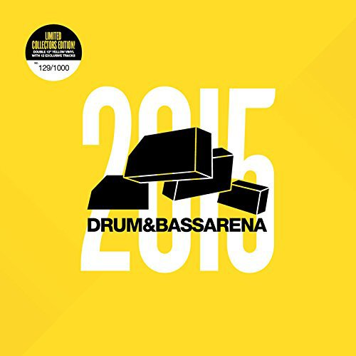 Drum & Bass Arena 2015 (2lp+Mp3/Yellow/Ltd.) [Vinyl LP]