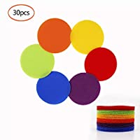 HONGXIN-SHOP Carpet Markers Magic Sticker Sitting Spots Circles Colorful Sitting Dots for Teaching Seating Children