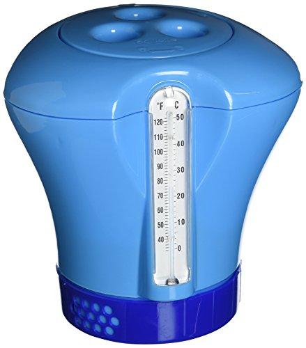 Dosatore Cloro Piscina Termometro Boa Galleggiante per