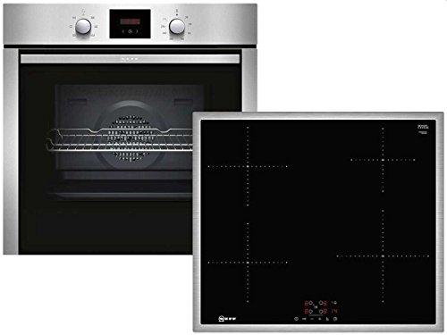 Neff XB46I Set Einbau Backofen BCB1402 + Induktion Kochstelle TBB3640 Küche