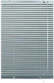 Deco Company Veneziana in Alluminio con Fissaggio al plafone, visibilità, Protezione dalla Luce e ai Raggi sol