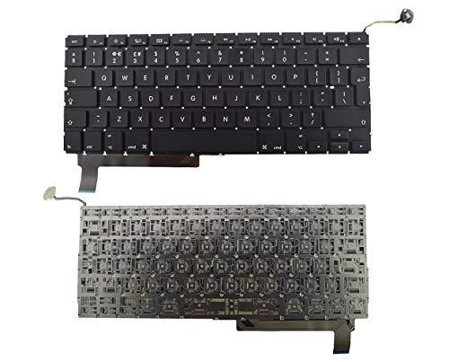IT SCREENS Ersatz-Tastatur für Apple MacBook Pro A1286 15 Zoll (38,1 cm), UK-Layout (englischsprachig), 2009 2010 2011 2012