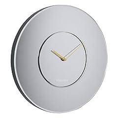 Idea Regalo - London Clock Orologio da Parete Grande Rotondo a Specchio, 40x 40x 3.5cm