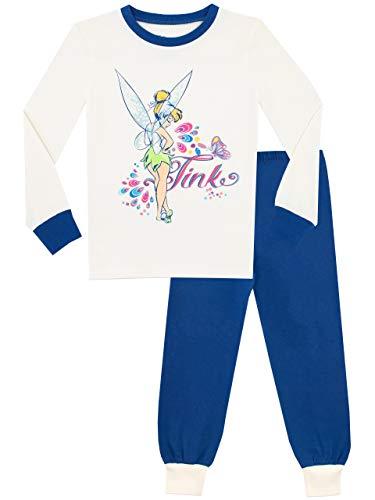 Tinkerbell Mädchen Pyjamas (Disney Mädchen Tinkerbell Schlafanzug Slim Fit Mehrfarbig 134)