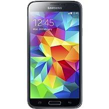 Samsung Galaxy S5 Smartphone, Display 5.1 Pollici, Processore Quad-Core 2,5 GHz, RAM 2GB, Memoria Fotocamera 16MP, Android 4.4, Nero [Germania]