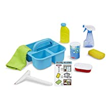 Melissa & Doug Cleaning Caddy Set | Pretend Play | Play sets | 3+ | Gift for Boy or Girl