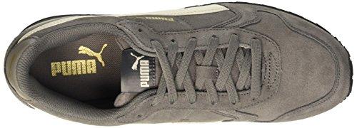 Puma St Runner Sd, Unisex-Erwachsene Laufschuhe Grau (Steel Gray/Whisper White/Oro/Nero 12)