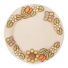 Idea Regalo - THUN Centrotavola Medio-Ceramica-Linea Country-con Fiori