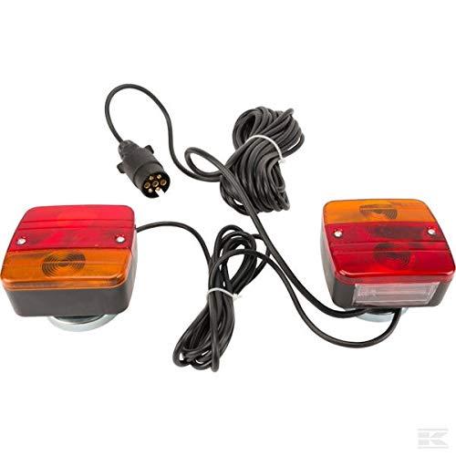 Luz de LED de batería Connix set inalámbrico magnético inalámbrico inalámbrico trasero colgante con luz